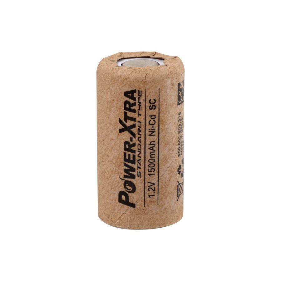 1.2V Ni-Cd SC 1500 Mah Kağıt Şarjlı Pil - Başsız