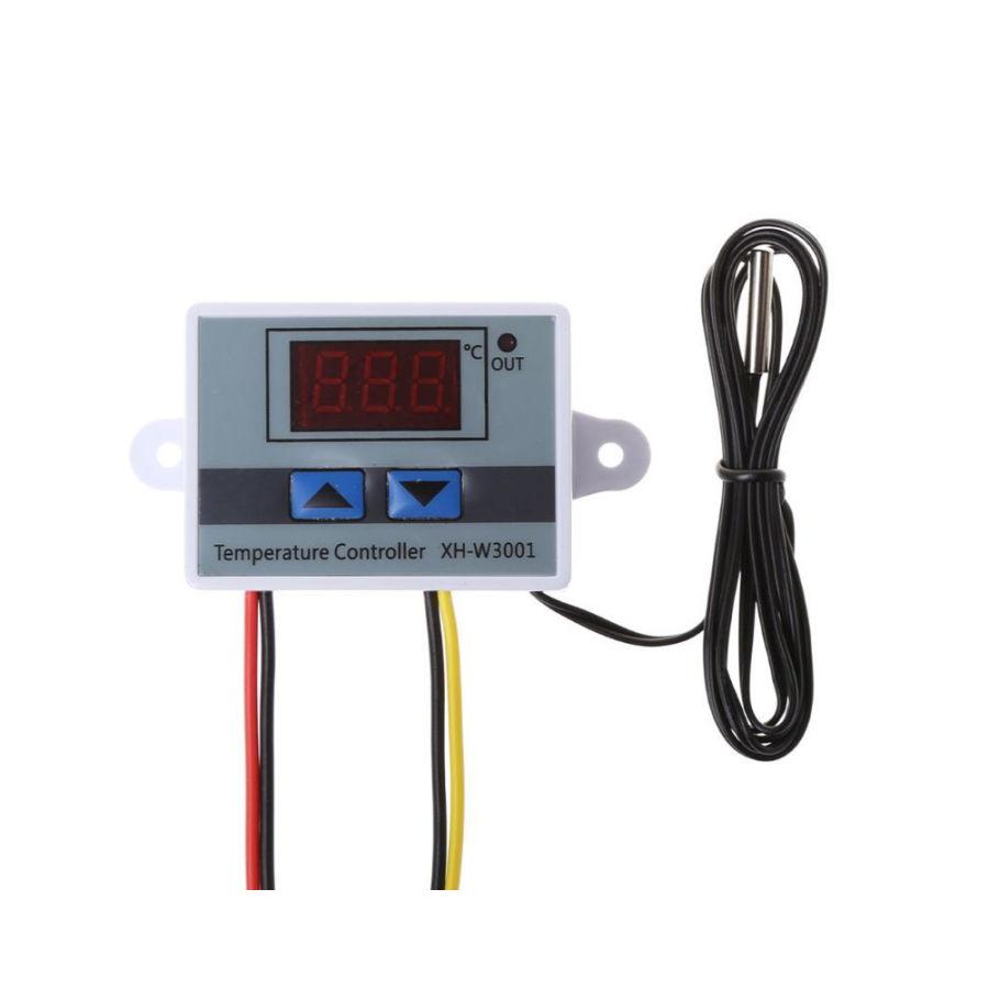 12V Xh-W3001 Dijital Termostat