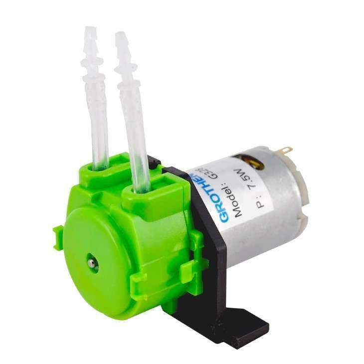 12V DC Peristaltik Dozaj Su Pompası - Yeşil