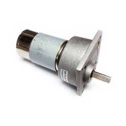 60mm 12V 500RPM Redüktörlü DC Motor - Thumbnail