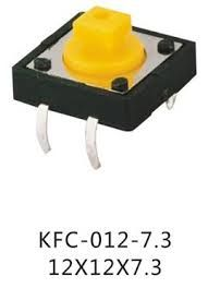 12x12 7.3mm Tact Switch