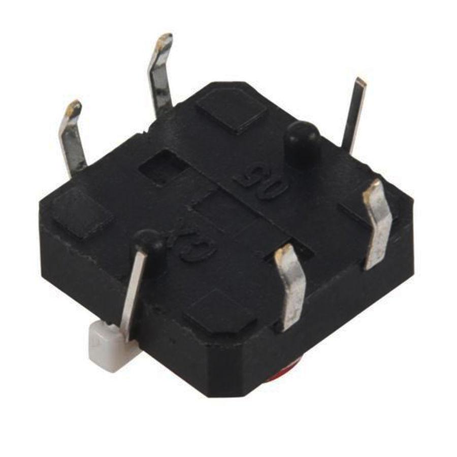 12x12 Kırmızı Led Işıklı Tact Switch