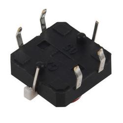 12x12 Kırmızı Led Işıklı Tact Switch - Thumbnail