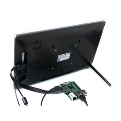 13.3 inç HDMI LCD (H) - Muhafazalı -1920x1080 IPS Dokunmatik Ekran - Raspberry Pi Uyumlu - WaveShare - Thumbnail