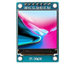 1.3 inch Oled Arduino TFT LCD Ekran Modülü - Thumbnail