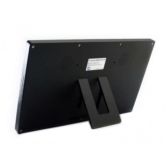 13.3inch HDMI LCD (H) Muhafazalı - V2 - Dokunmatik Ekran -1920x1080-IPS
