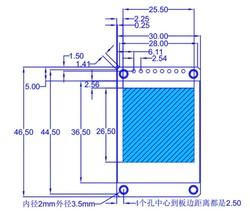 1.44 inch Oled Arduino TFT LCD Ekran Modülü - Thumbnail