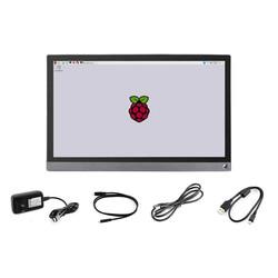 15.6 inç Evrensel Taşınabilir Dokunmatik Full HD, IPS, HDMI LCD - Thumbnail