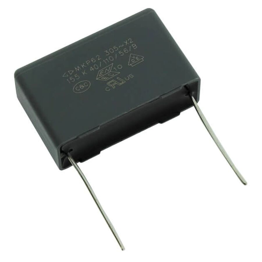 1.5uF 305VAC Polyester Capacitor 27.5mm 32x20x11mm