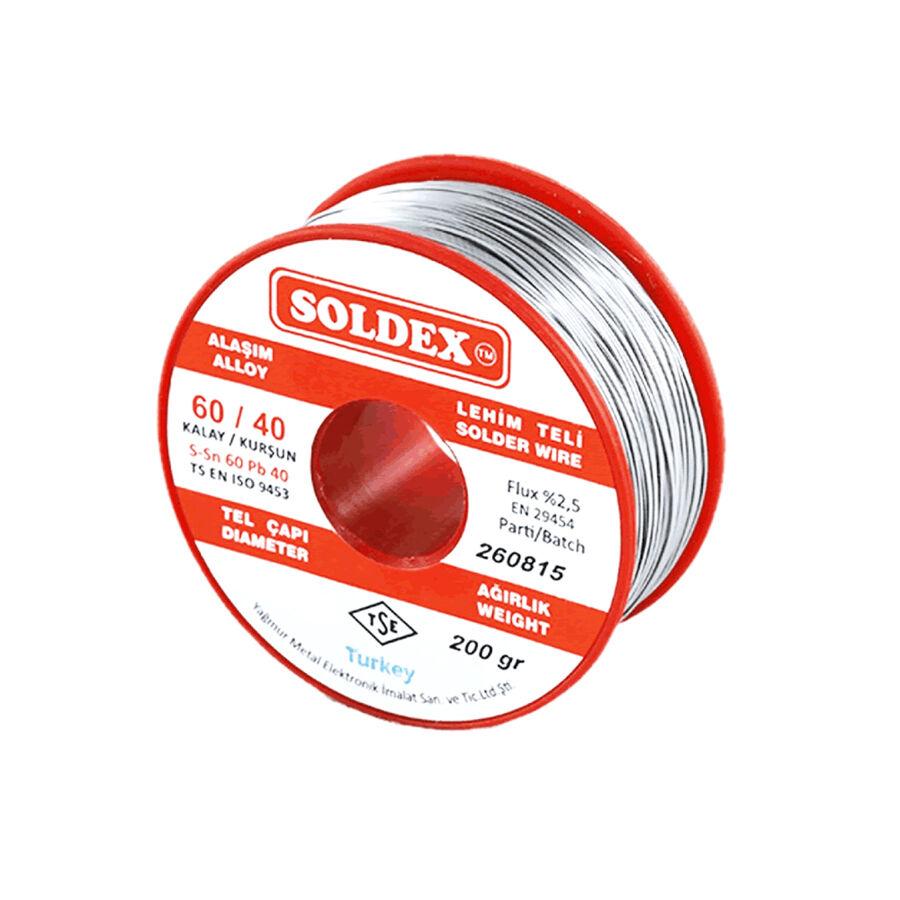 1mm 200 gr Soldex Lehim Teli