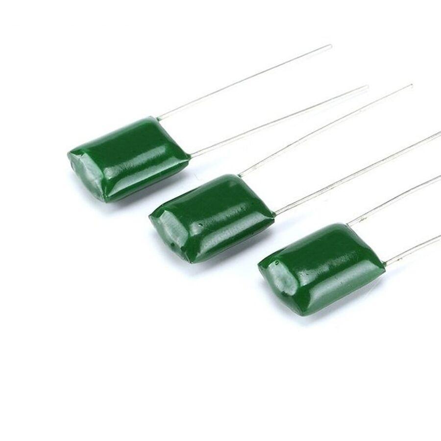1nF 100V %5 Damla Tipi Polyester Kondansatör 5mm