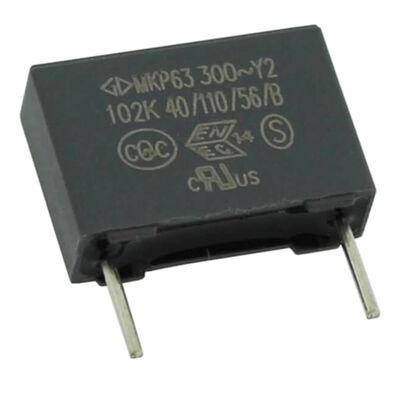 1nF 300Vac 10% Polyester Kondansatör Y2 10mm