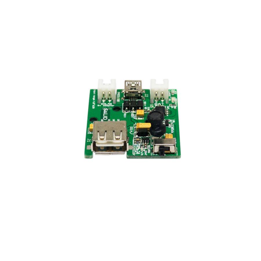 1S Lipo Solar-USB Pil Şarj Devresi