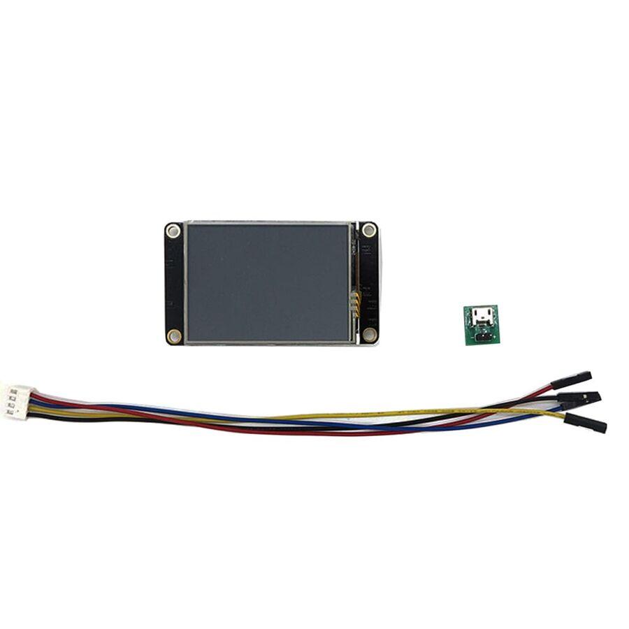 2.4 Inch Nextion HMI Dokunmatik TFT Lcd Ekran + 8 Port GPIO / 16MB Dahili Hafıza