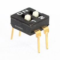 2 Pin Entegre Tipi Dip Switch