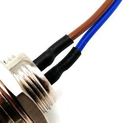 2-Pin Kablolu Erkek Mike Konnektör GX-16 - Thumbnail