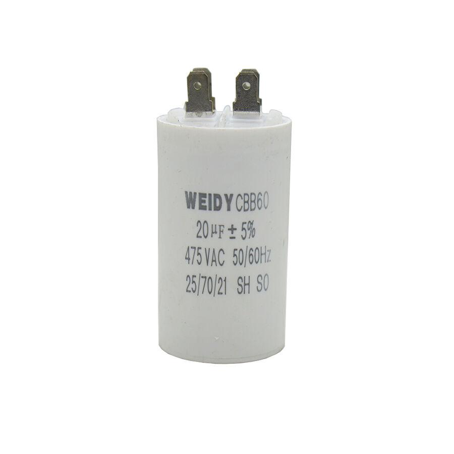 20uF 475VAC Motor Kondansatör %5 12.3mm