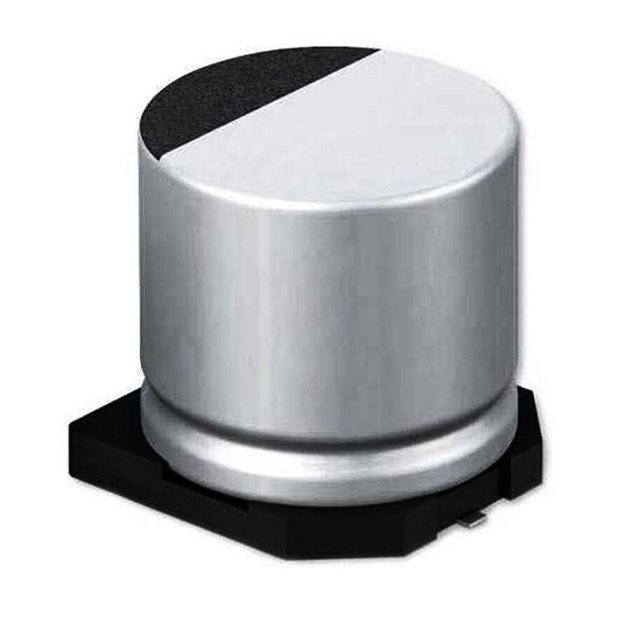 220uF 16V SMD Elektrolitik Kondansatör 10x10.2mm 2000Hrs 85C