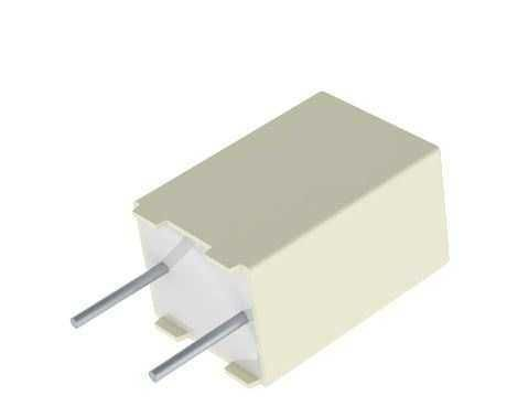 2.2nF 100VDC 5% Box Type Polyester Capacitor 5mm