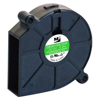 24V 61x62x18mm 0.12A 2.88W 4500RPM Salyangoz Fan