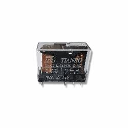 24V Çift Kontak Tianbo Röle (24V 5A) - TRA3-L-24VDC-S-2Z(2) - Thumbnail