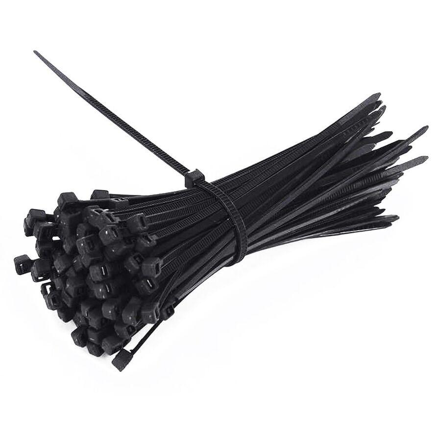 2.5mm x 150mm Kablo Bağı (100 Adet) Siyah