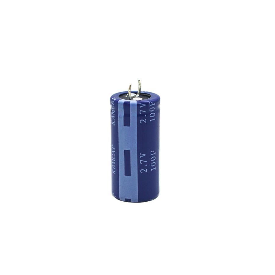 2.7V 100F Süper Kondansatör 12mm %10