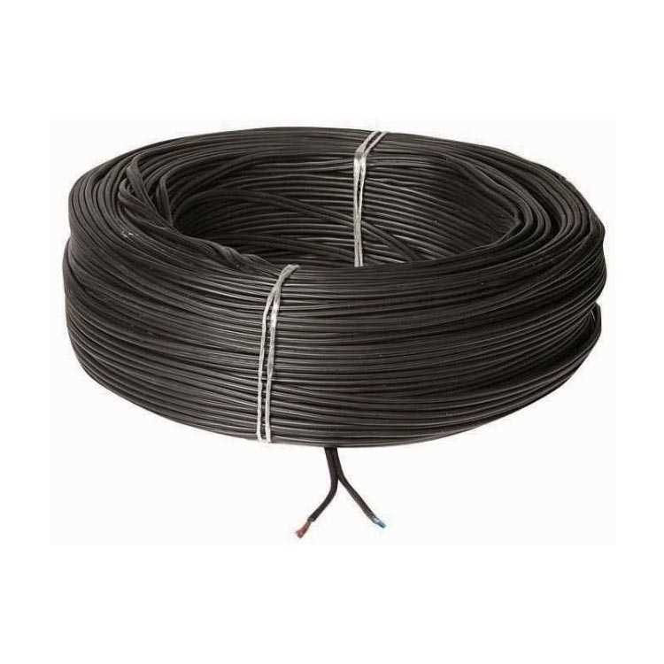 2'li Bitişik İnce Kablo - 0,22mm Kablo - 1 Metre