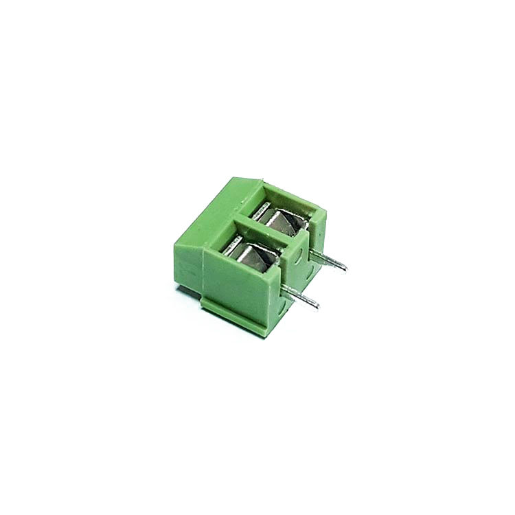2 Pin 3.50mm Yeşil Klemens