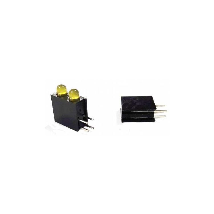 2-Yellow Led-Led Socket