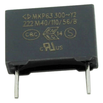 2.2nF 300VAC 20% Polyester Capacitor 10mm