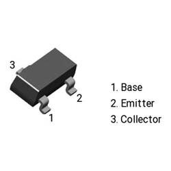 2N3906 (MMBT3906) Transistör Pnp Smd Sot-23 - Thumbnail