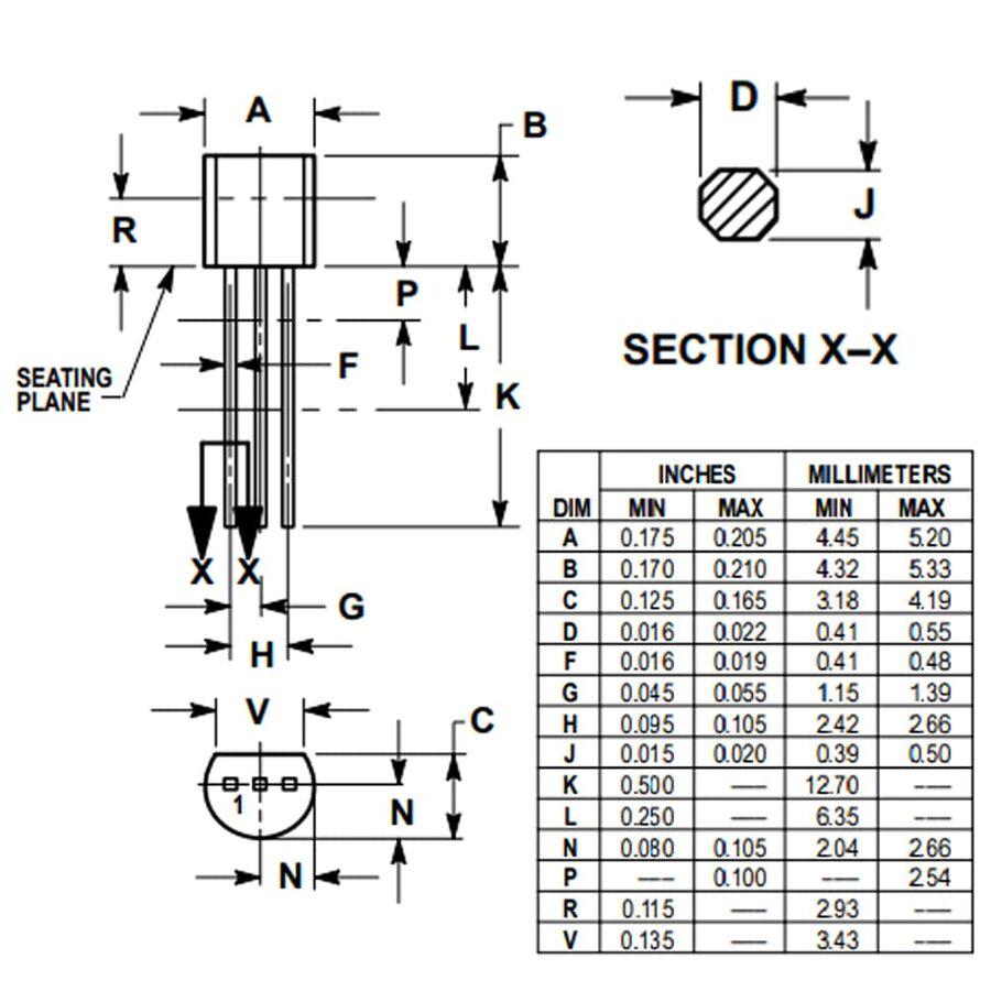 2N4401BU 600mA 40V Npn Transistör TO92