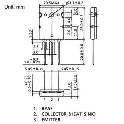 2SA1943 Pnp Tht Güç Transistörü To-264 - Thumbnail