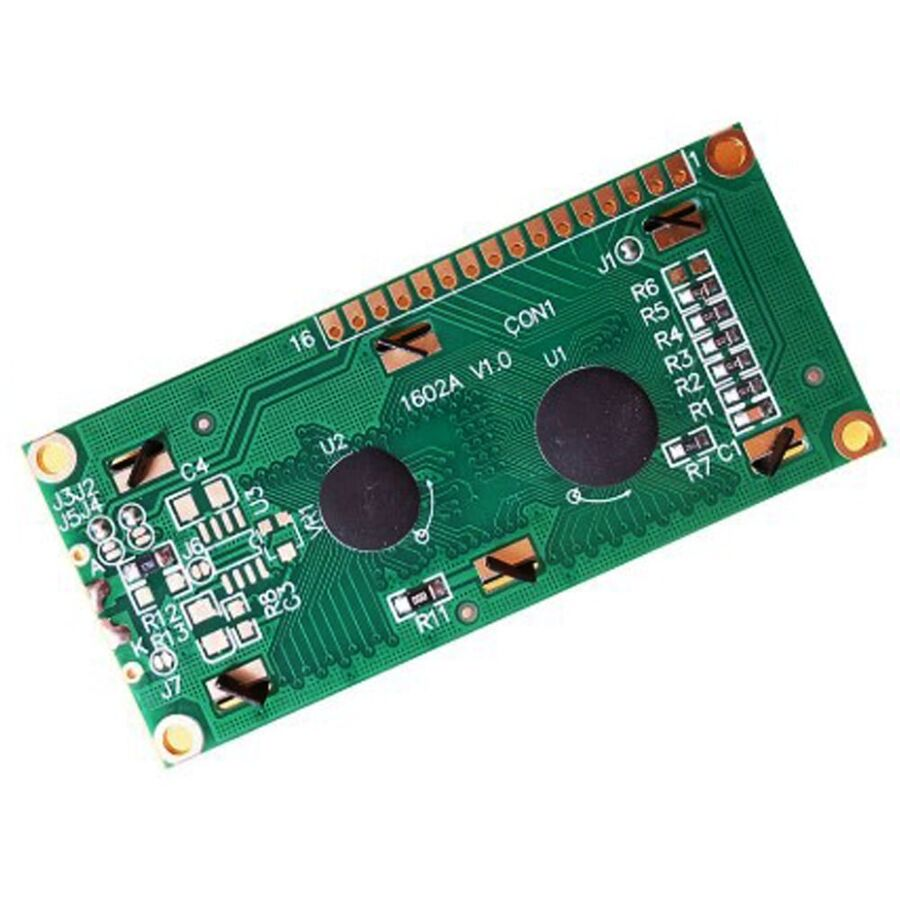 2x16 Karakter LCD Modül Ekran Sarı SLC1602A3