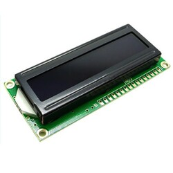2x16 Karakter LCD Modül Ekran Sarı SLC1602A3 - Thumbnail