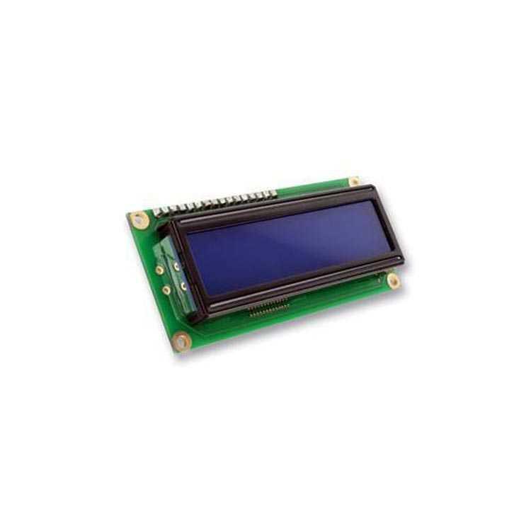 2x16 LCD Ekran Sol Üst Mavi - Qapass