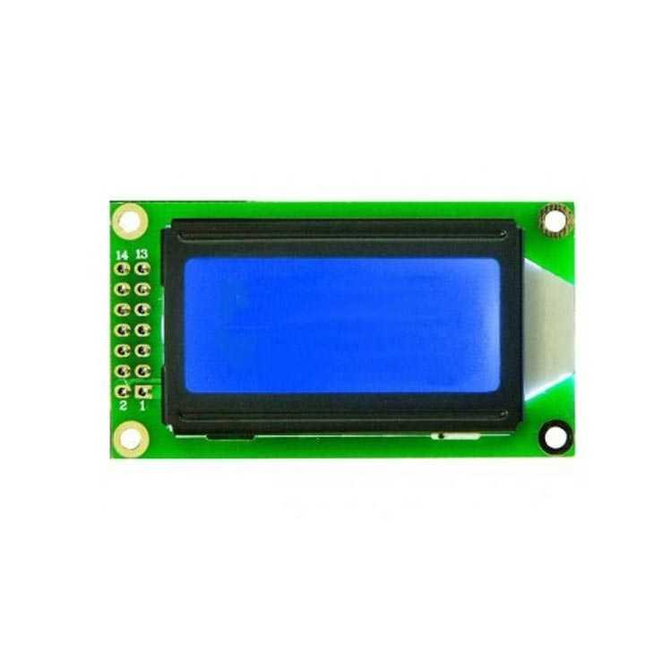 2x8 Lcd Ekran Mavi - TC802C-10