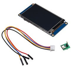 3.5 Inch Nextion HMI Dokunmatik TFT Lcd Ekran - 16MB Dahili Hafıza - Thumbnail