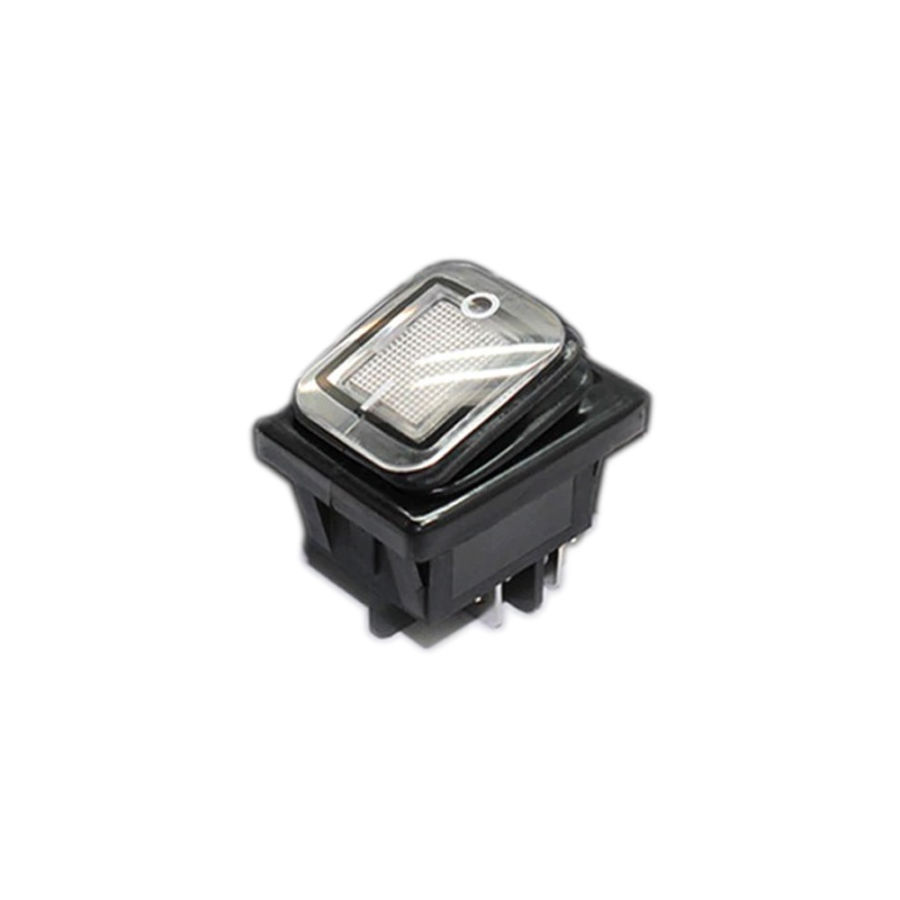 30A 250V LED ON-OFF Su Geçirmez Switch - Beyaz