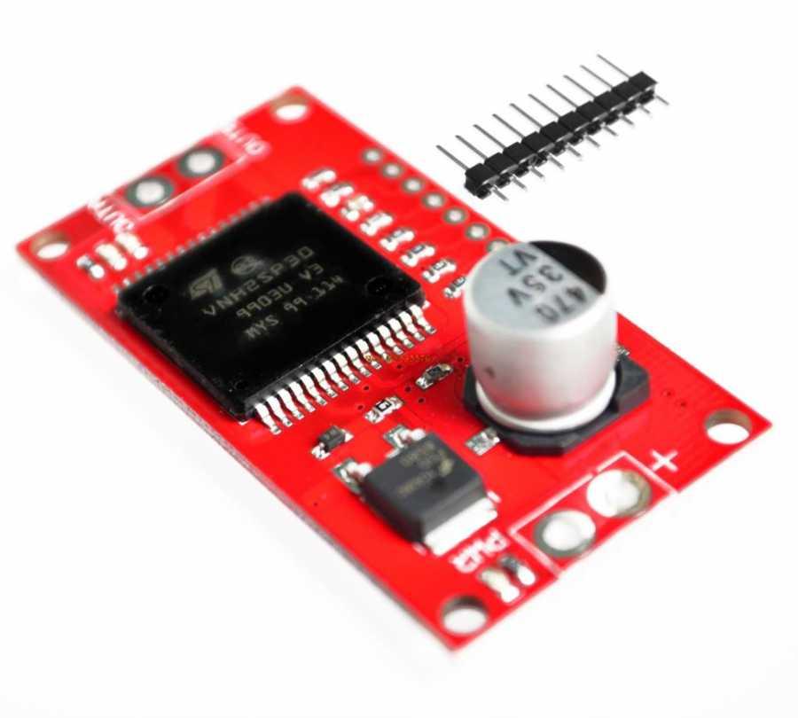 VNH2SP30 - 30A Mini Arduino Motor Sürücü Kartı