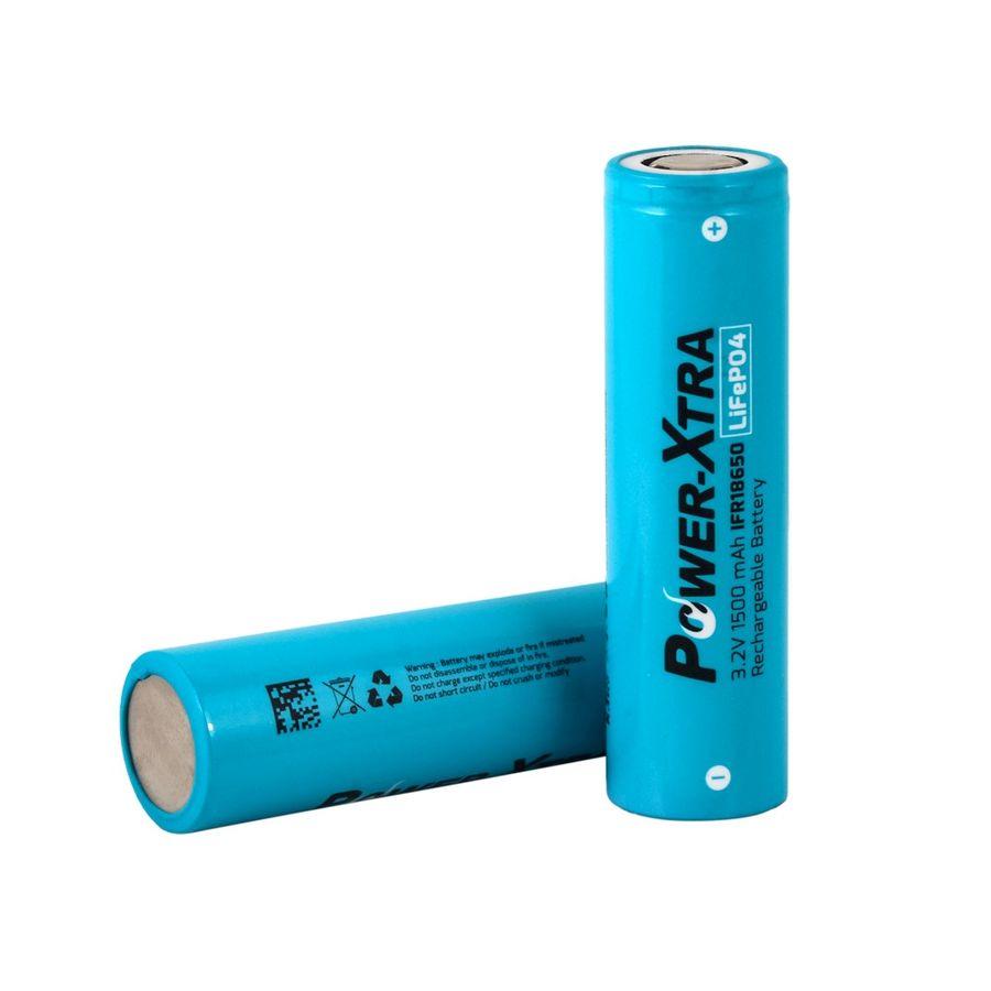 3.2V LiFePO4 1500 Mah Şarjlı Pil - Başsız