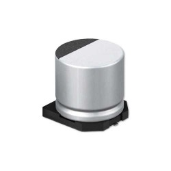 330uF 6.3V SMD Elektrolitik Kondansatör 6.3x7.7mm 85C - Thumbnail