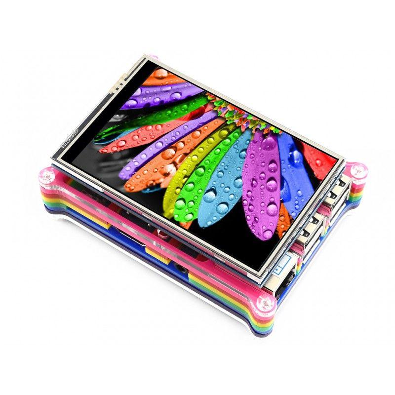 3.5 Inch TFT LCD Dokunmatik Ekran - 480x320 - Raspberry Pi