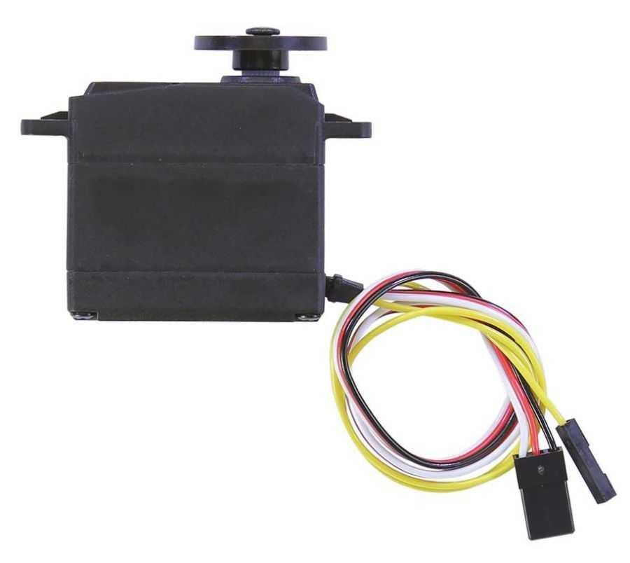 Yüksek Hızlı 360 Derece Servo Motor Hall Effect Sensörlü - Pololu 3432
