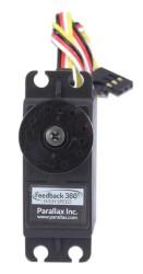 Parallax Yüksek Hızlı 360 Derece Servo Motor Hall Effect Sensörlü - Thumbnail