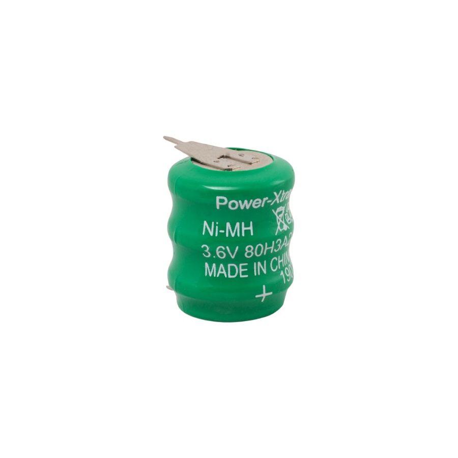 3.6V Ni-Mh 80 Mah 2 Pin Buton Pil