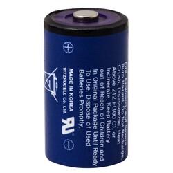 3.6V SB-AA02 1/2AA Size Li-SOCI2 Lityum Pil - Thumbnail