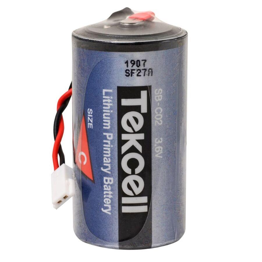 3.6V SB-C02 C Size 1S1P Li-SOCI2 Lityum Batarya (Soketli)