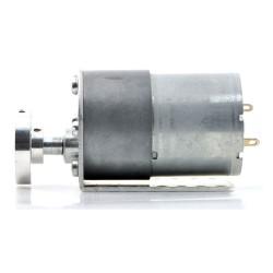 37D mm Redüktörlü Motor Bağlantı Aparatı - Alüminyum Motor Tutucu - L Dirsek - Thumbnail